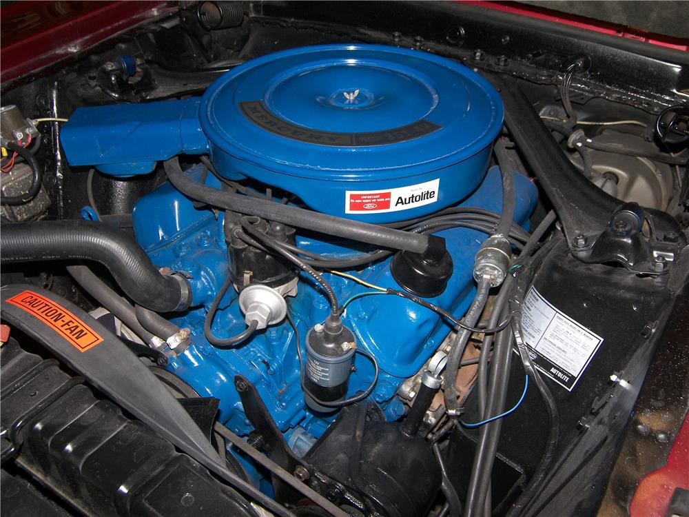 1969 MERCURY COUGAR XR7 CONVERTIBLE - Engine - 180716