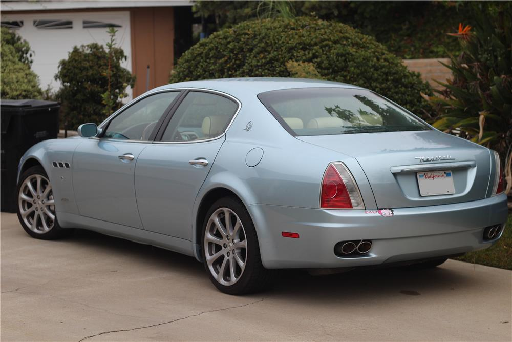 2005 maserati quattroporte 4 door sedan180721. Black Bedroom Furniture Sets. Home Design Ideas