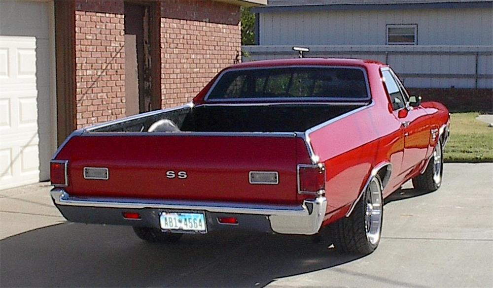 1971 CHEVROLET EL CAMINO SS PICKUP - Rear 3/4 - 180724