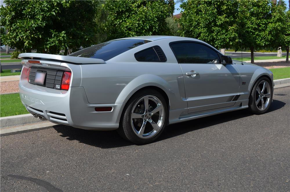 2008 FORD SALEEN MUSTANG S281 SUPERCHARGED COUPE - Rear 3/4 - 180731