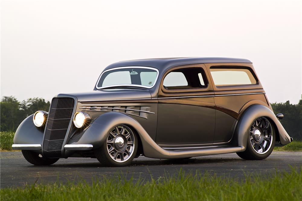 Shortened Cars >> 1935 FORD CUSTOM 'TIN WOODY' - 180742