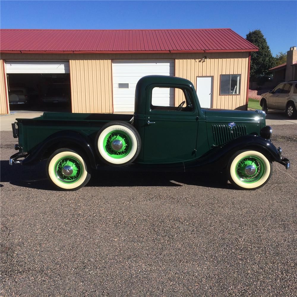 1935 FORD PICKUP - Side Profile - 180743