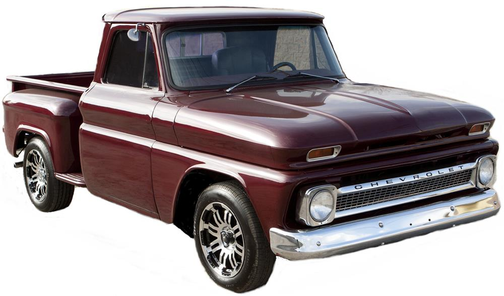 1965 CHEVROLET C-10 CUSTOM PICKUP - Front 3/4 - 180745