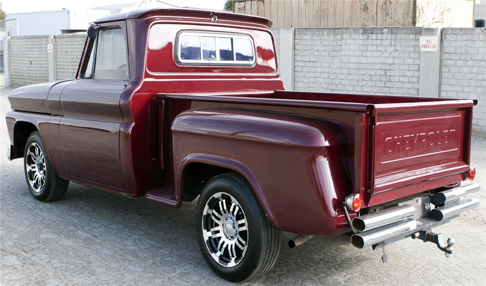 1965 CHEVROLET C-10 CUSTOM PICKUP - Rear 3/4 - 180745