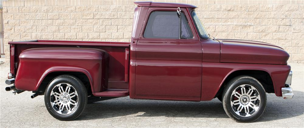 1965 CHEVROLET C-10 CUSTOM PICKUP - Side Profile - 180745