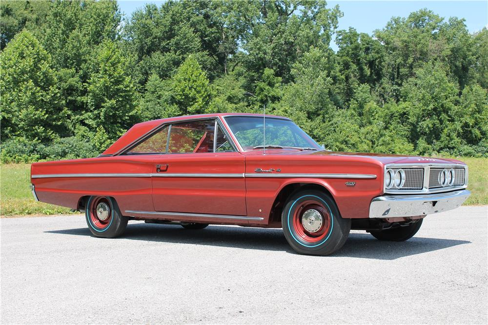 1966 DODGE HEMI CORONET - Side Profile - 180750