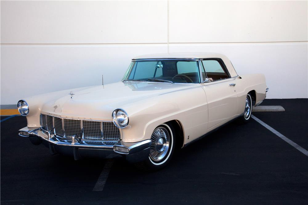 1957 LINCOLN CONTINENTAL MARK II - Front 3/4 - 180752