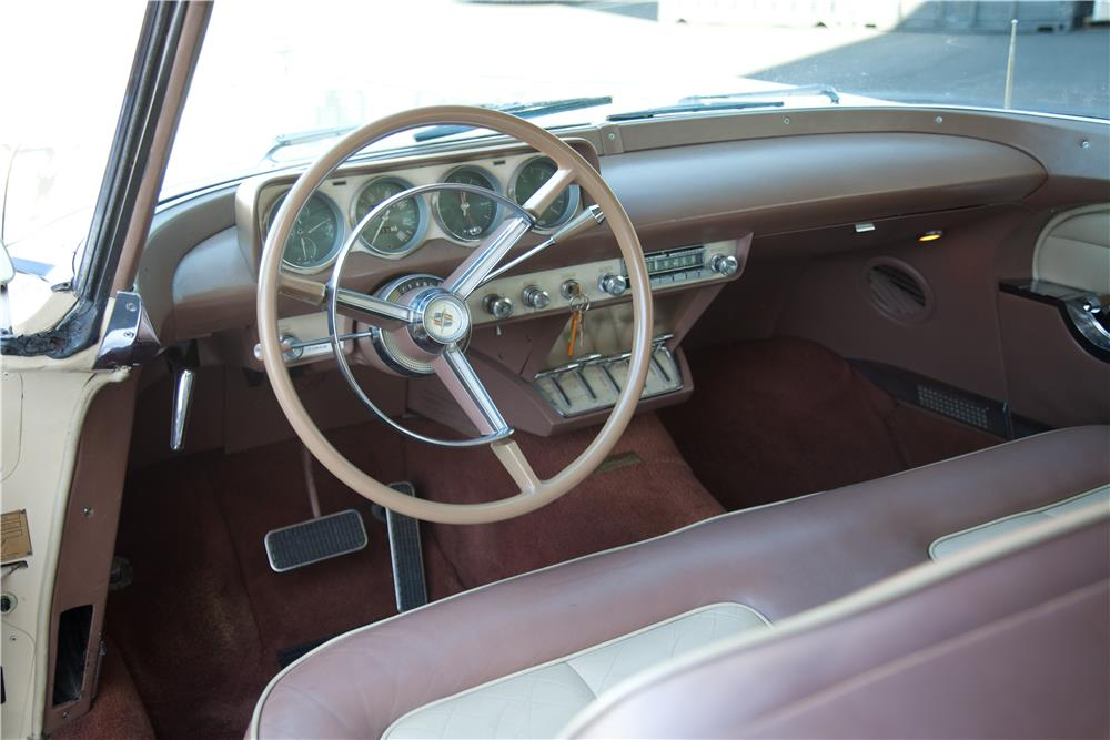 1957 LINCOLN CONTINENTAL MARK II - Interior - 180752
