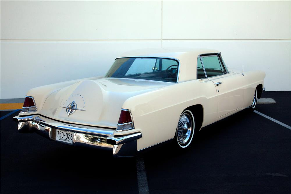 1957 LINCOLN CONTINENTAL MARK II - Rear 3/4 - 180752