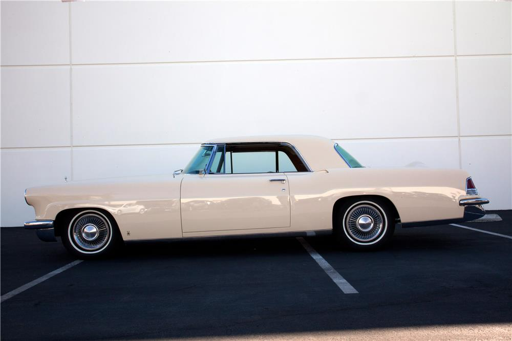 1957 LINCOLN CONTINENTAL MARK II - Side Profile - 180752