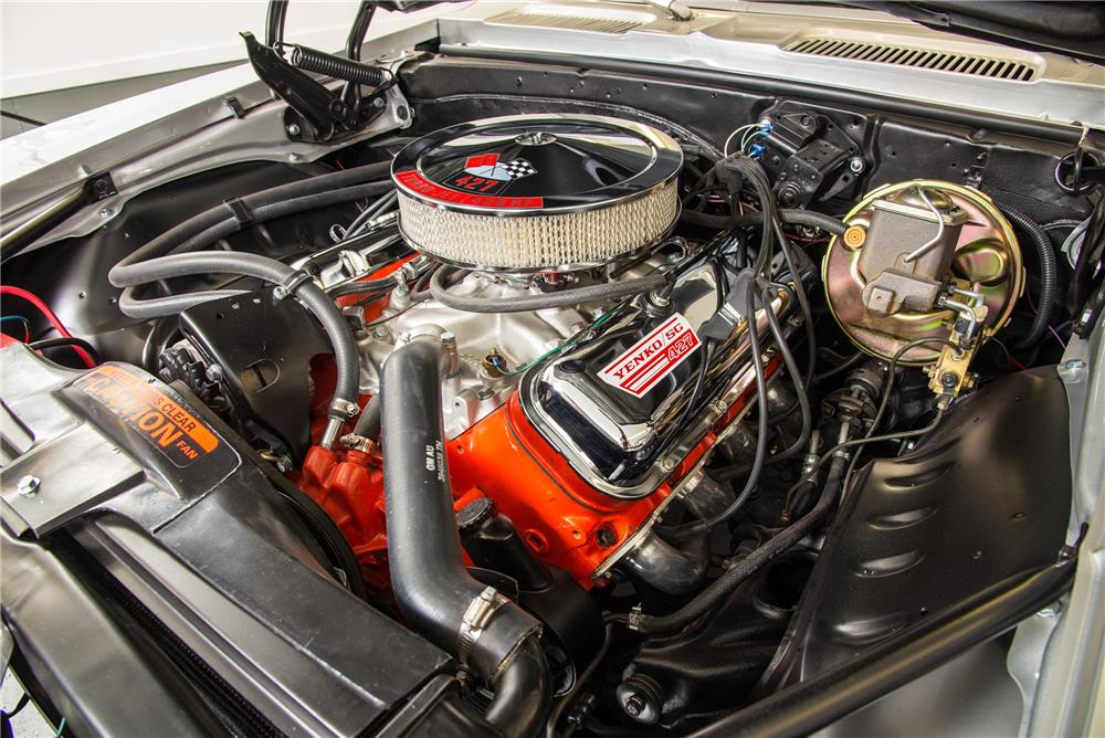 1969 CHEVROLET CAMARO CUSTOM - Engine - 180757