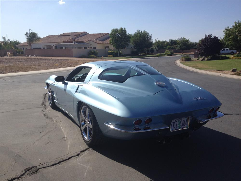 2008 CHEVROLET CORVETTE CUSTOM - Rear 3/4 - 180761
