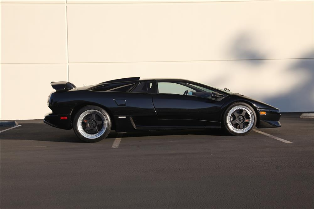 1998 LAMBORGHINI DIABLO - Side Profile - 180762