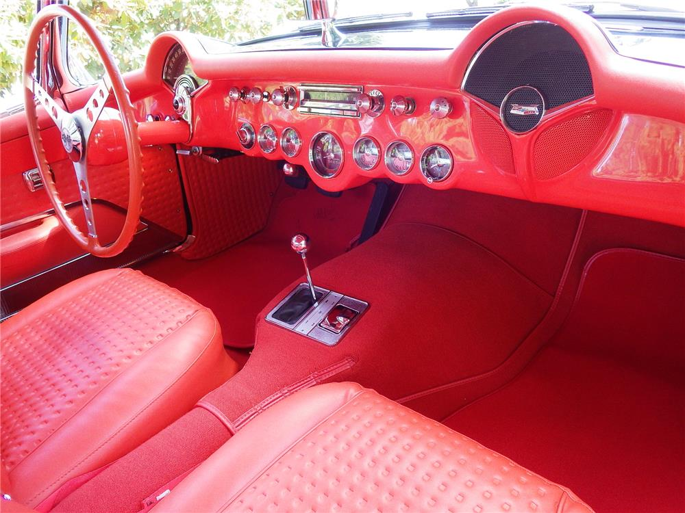 1956 CHEVROLET CORVETTE CONVERTIBLE - Interior - 180764