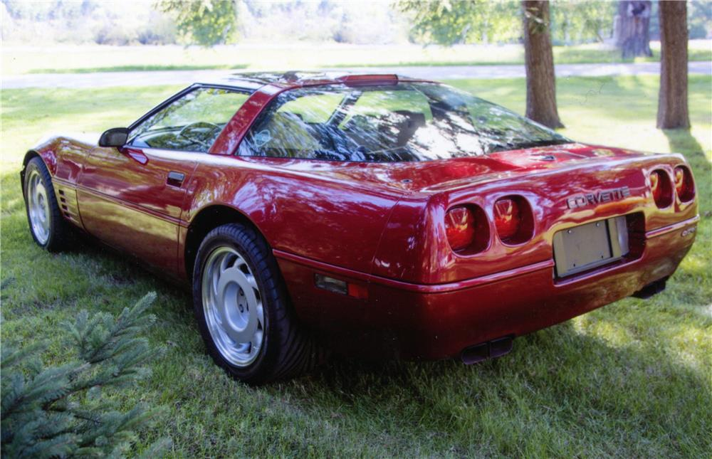 1991 CHEVROLET CORVETTE ZR1 - Rear 3/4 - 180769