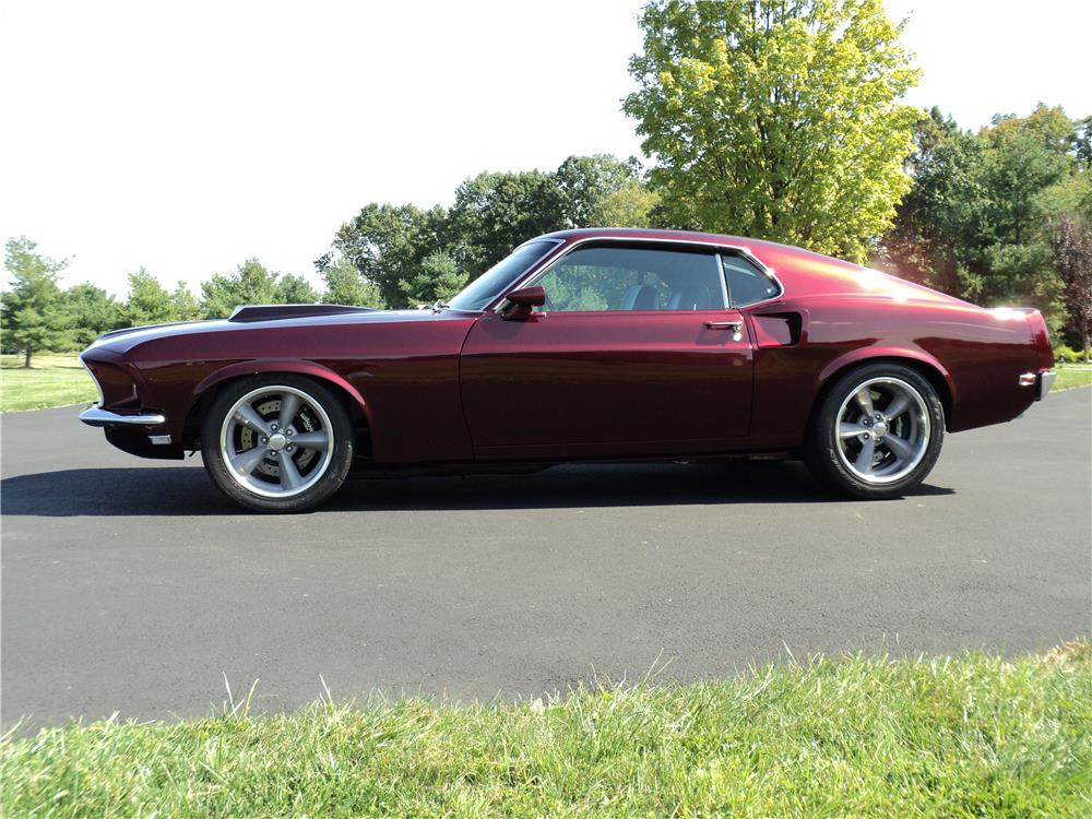 1969 FORD MUSTANG CUSTOM FASTBACK - 180771