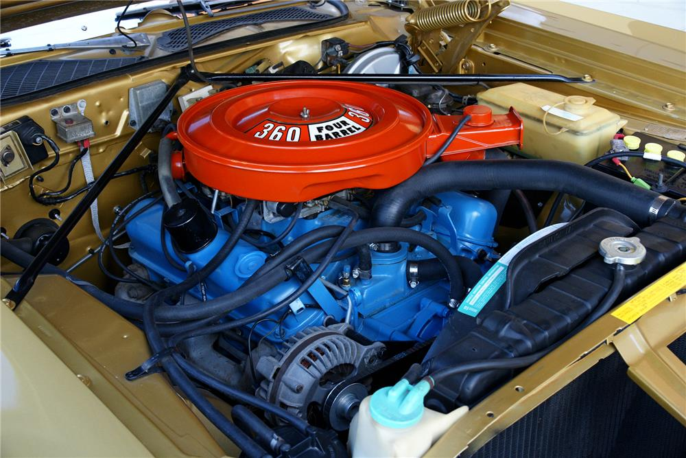 1974 DODGE CHARGER - Engine - 180777