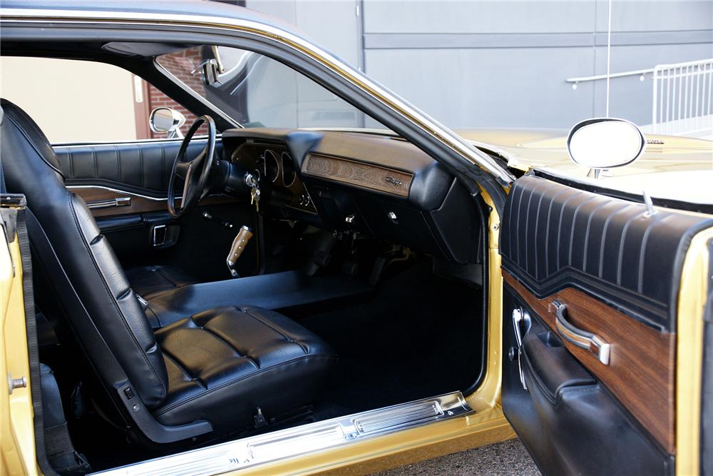 1974 DODGE CHARGER - Interior - 180777
