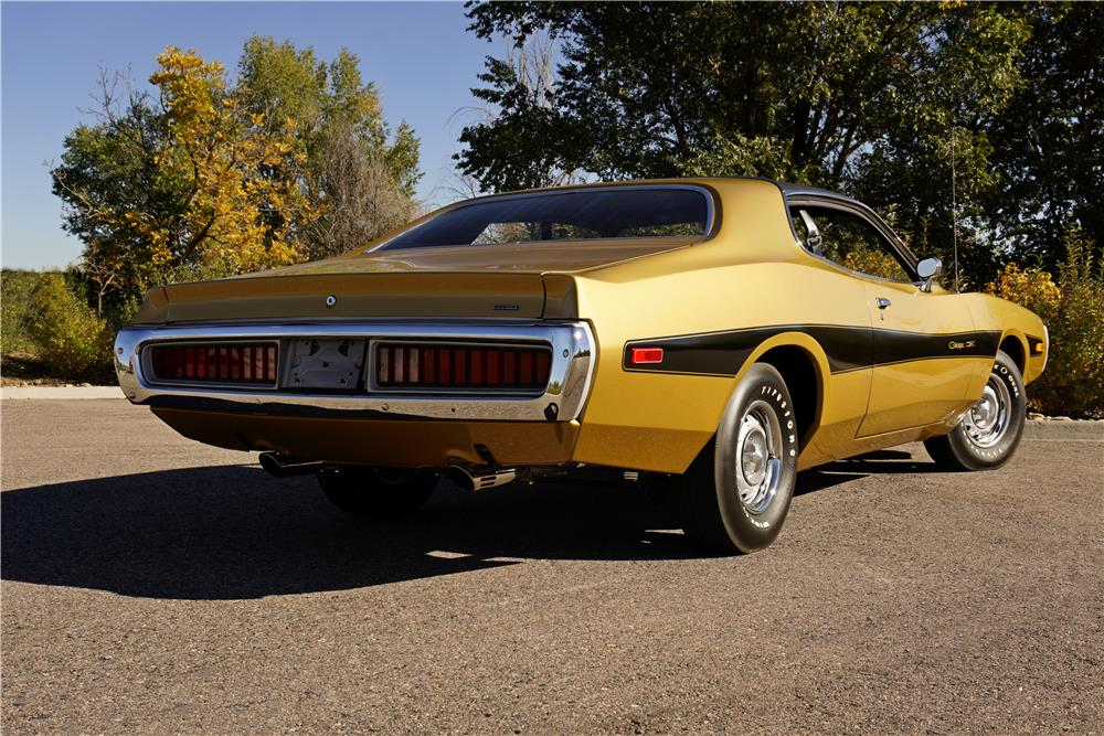 1974 DODGE CHARGER - Rear 3/4 - 180777