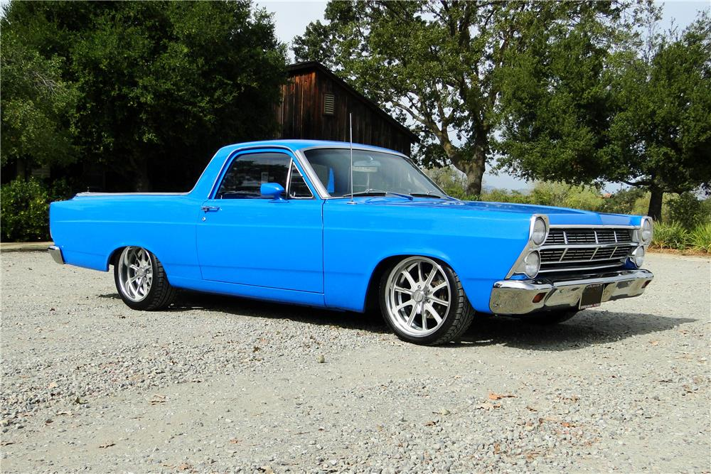 1967 FORD RANCHERO PICK UP - Front 3/4 - 180779