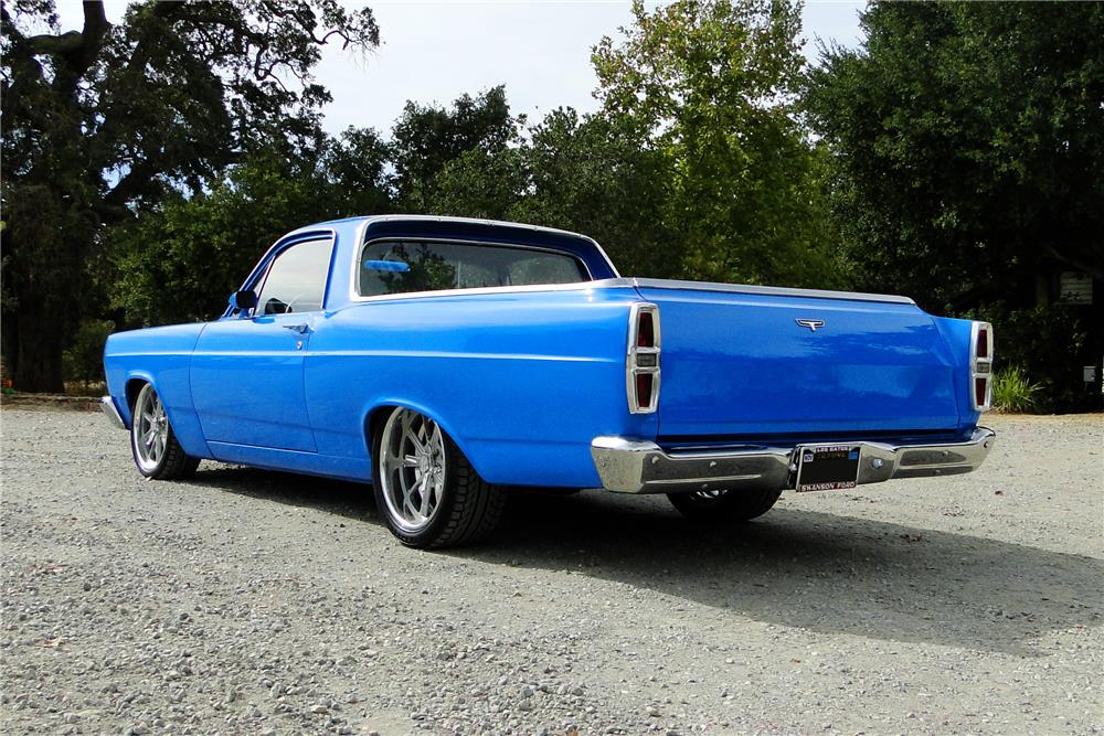 1967 FORD RANCHERO PICK UP - Rear 3/4 - 180779