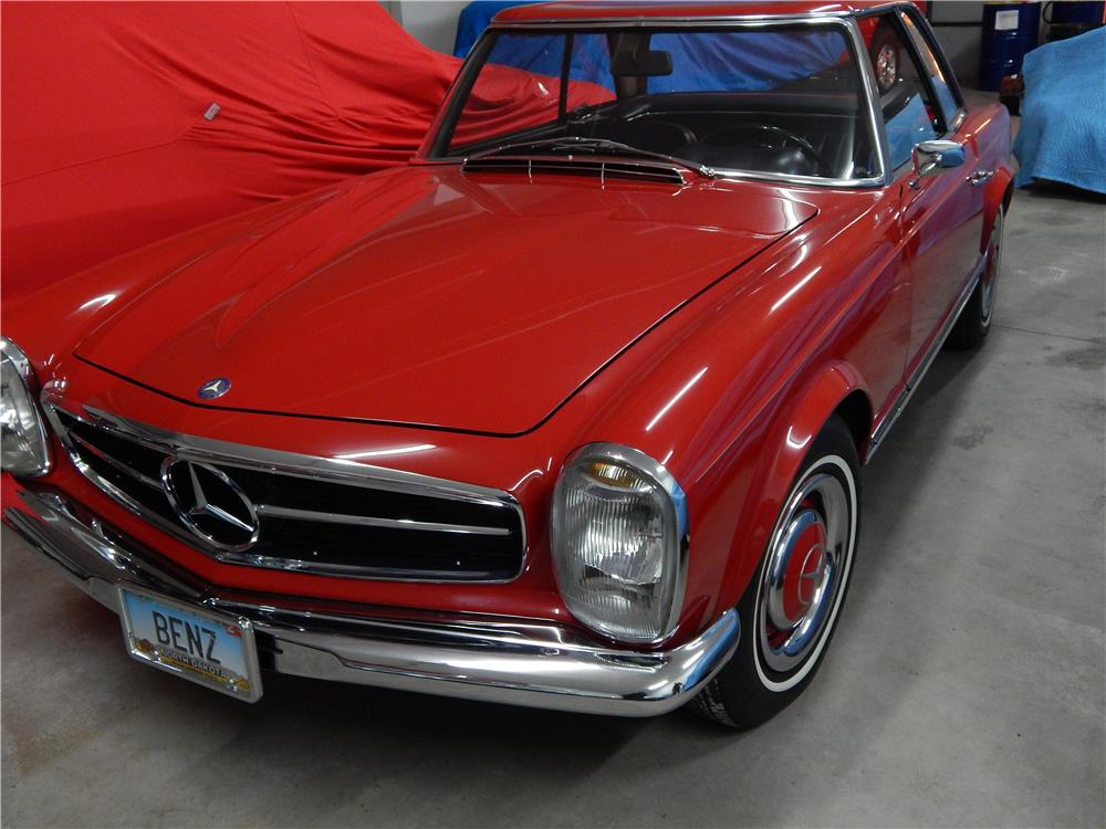 1964 mercedes benz 230sl roadster 180801 for Mercedes benz 230sl