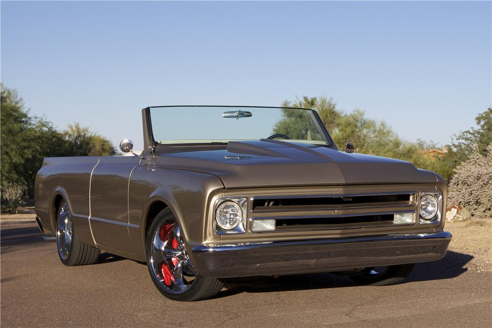 1972 GMC JIMMY CUSTOM TOPLESS ROADSTER - Front 3/4 - 180804