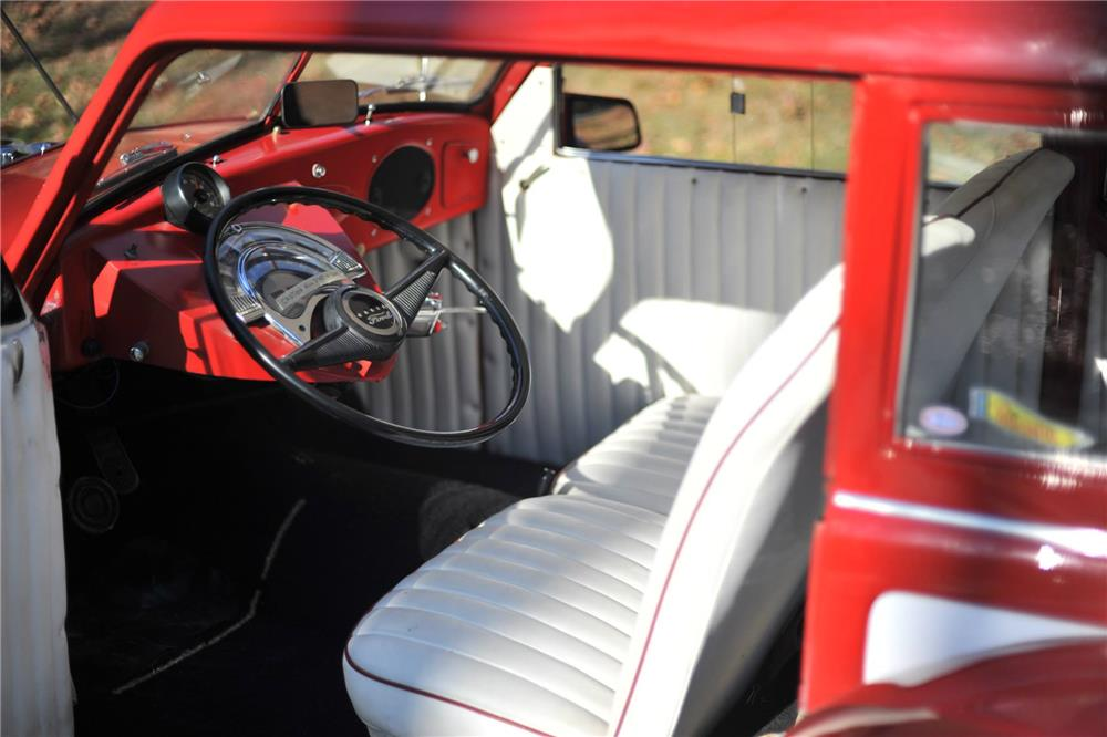 1954 DE SOTO CUSTOM DRAG RACE CAR - Interior - 180806