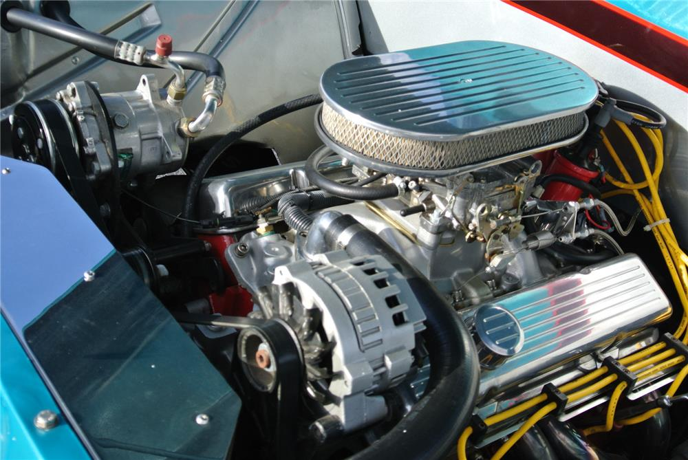 1957 CHEVROLET CUSTOM PICKUP - Engine - 180813