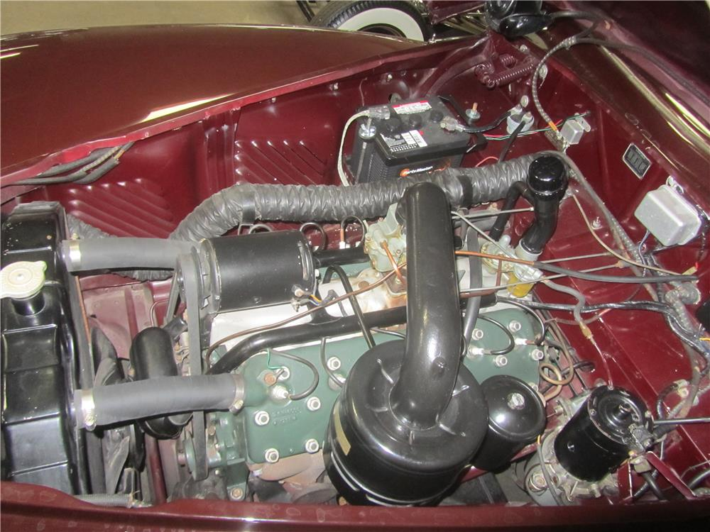 1948 LINCOLN CONTINENTAL 2 DOOR CLUB COUPE - Engine - 180829