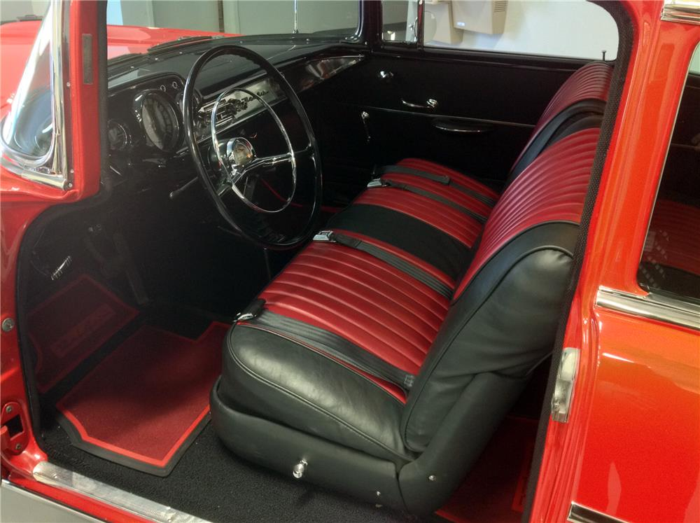 1957 CHEVROLET BEL AIR CUSTOM - Interior - 180835