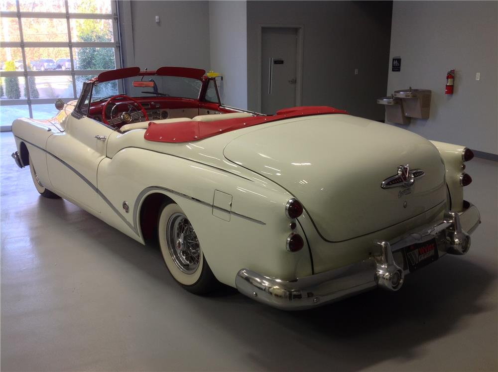 1953 BUICK SKYLARK CONVERTIBLE - Rear 3/4 - 180836