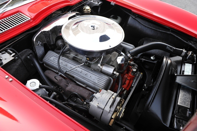 1963 CHEVROLET CORVETTE ROADSTER - Engine - 180839