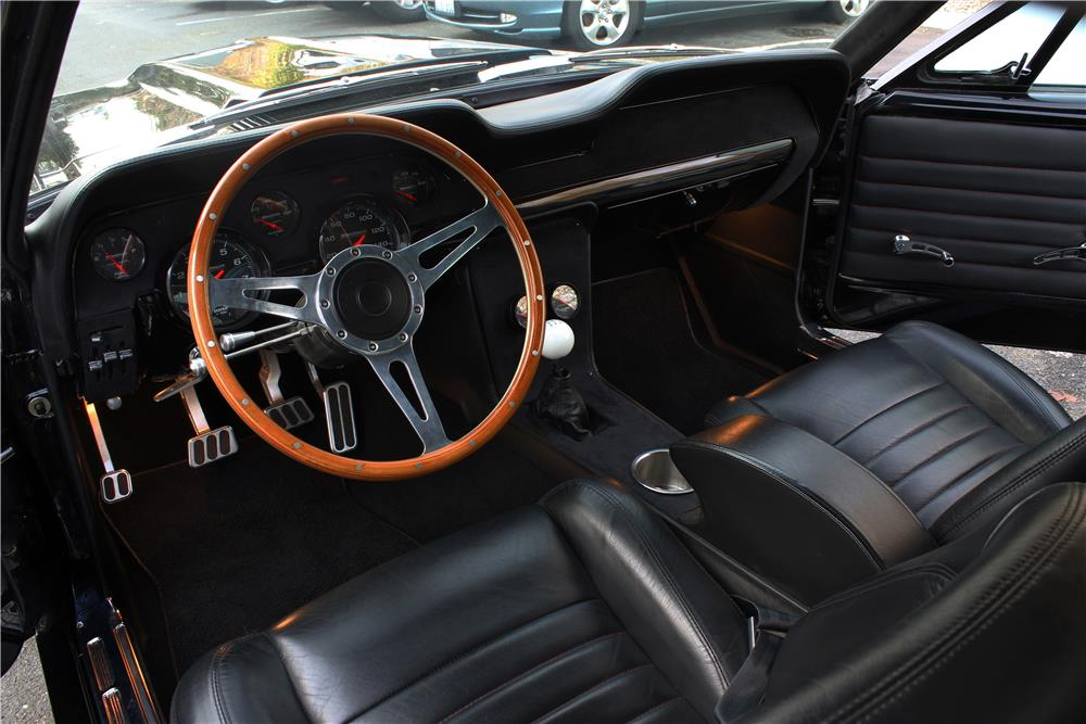 1967 ford mustang custom fastback interior 180847