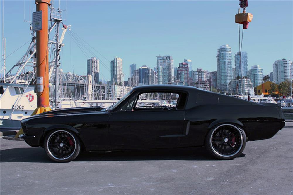 1967 FORD MUSTANG CUSTOM FASTBACK - Side Profile - 180847