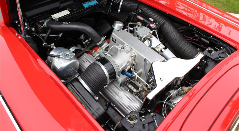 1962 CHEVROLET CORVETTE CONVERTIBLE - Engine - 180852