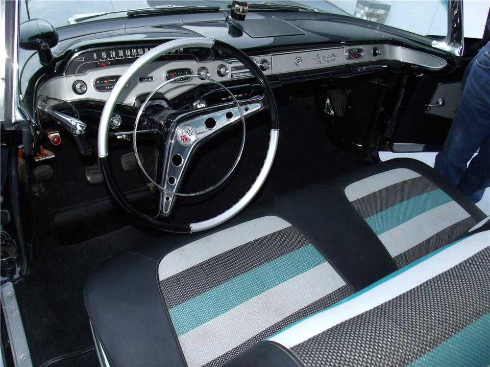 1958 CHEVROLET IMPALA CONVERTIBLE - Interior - 180853