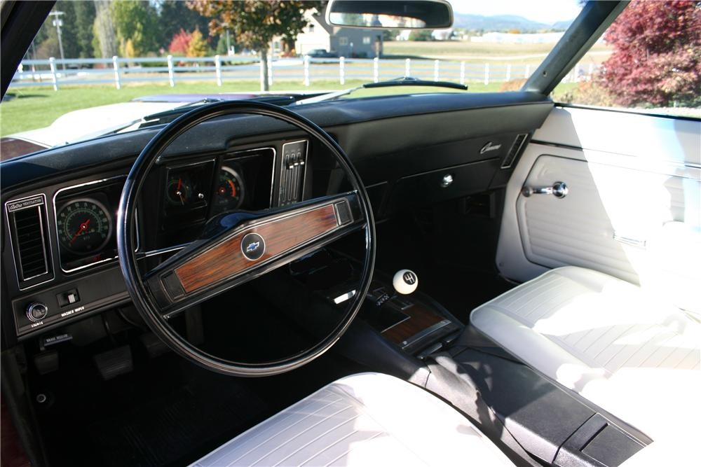 1969 CHEVROLET CAMARO SS CONVERTIBLE - Interior - 180855