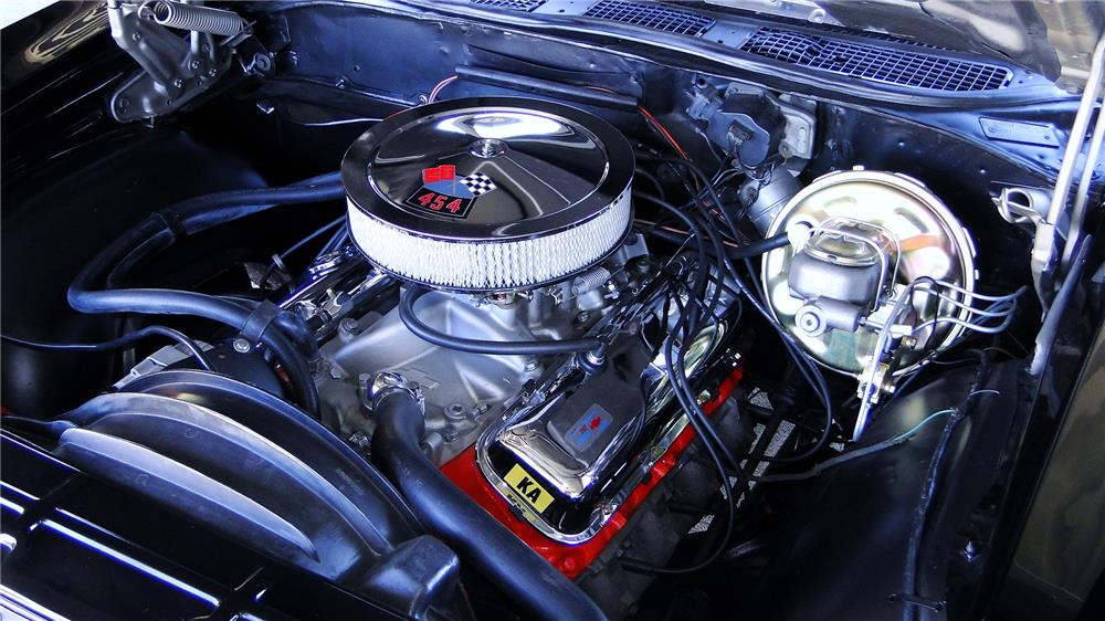 1970 CHEVROLET CHEVELLE SS 454  - Engine - 180856