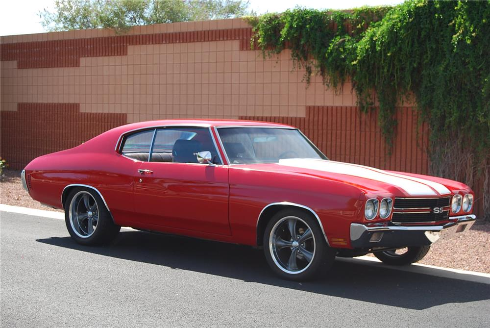 1970 CHEVROLET CHEVELLE SS 454  - Front 3/4 - 180858
