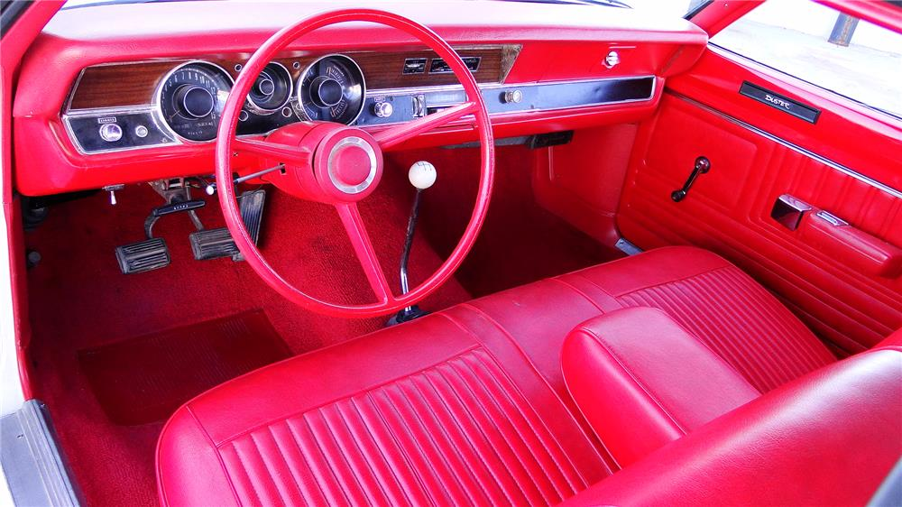 1970 PLYMOUTH DUSTER - Interior - 180859