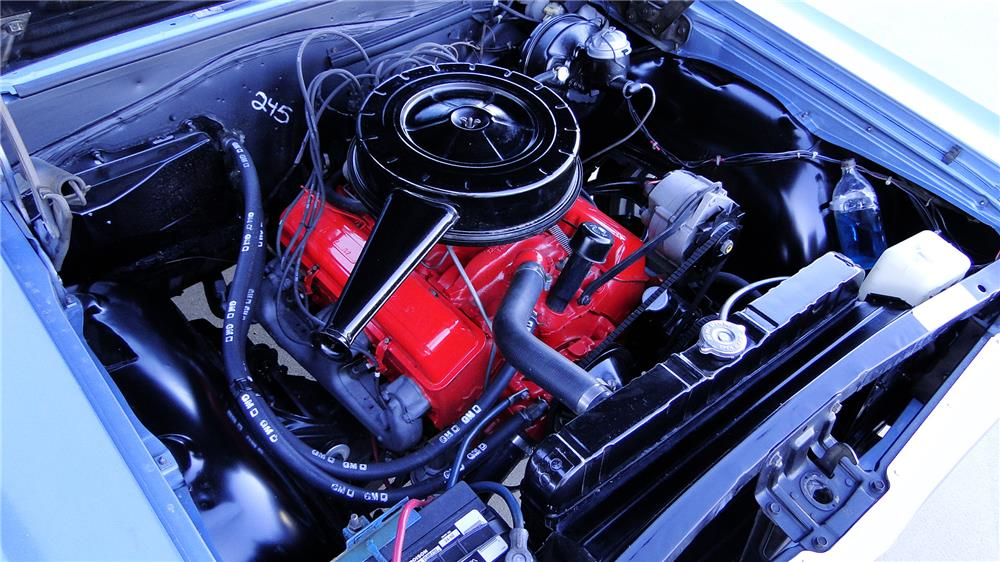 1964 CHEVROLET CHEVELLE MALIBU CONVERTIBLE - Engine - 180861
