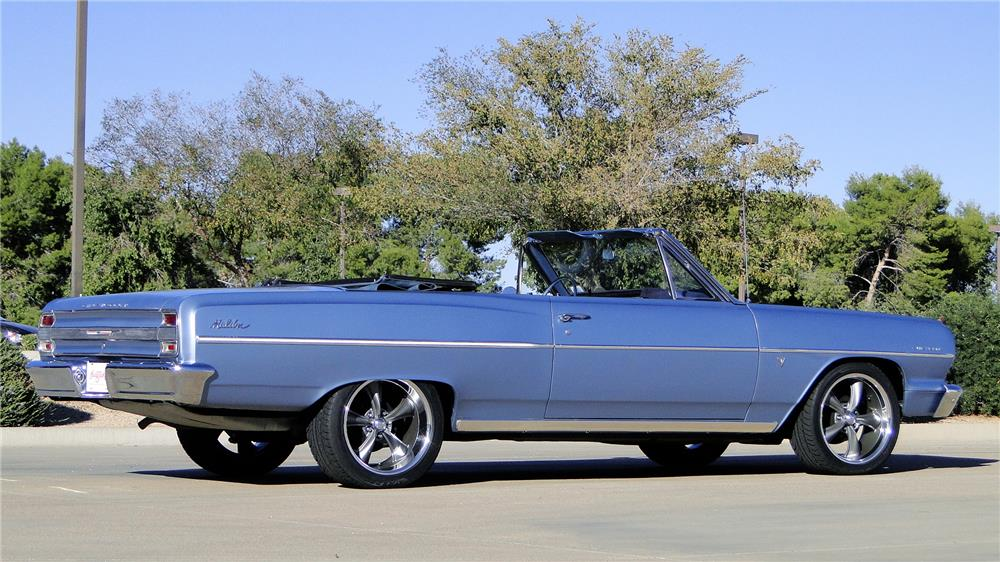 1964 CHEVROLET CHEVELLE MALIBU CONVERTIBLE - Side Profile - 180861