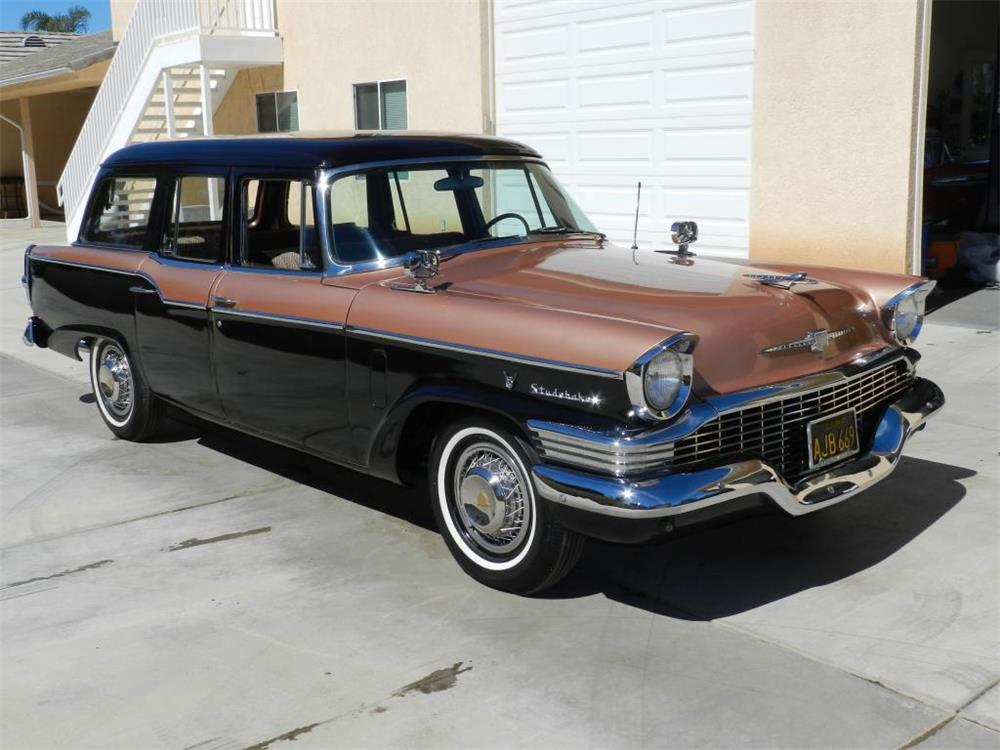 1957 studebaker provincial station wagon 180862. Black Bedroom Furniture Sets. Home Design Ideas