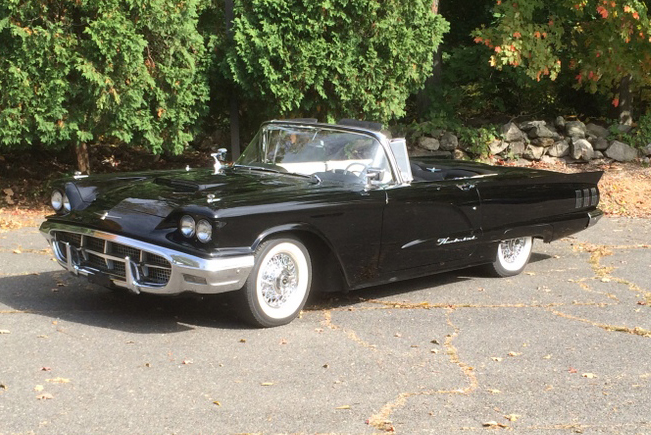 1960 FORD THUNDERBIRD CONVERTIBLE - Front 3/4 - 180864