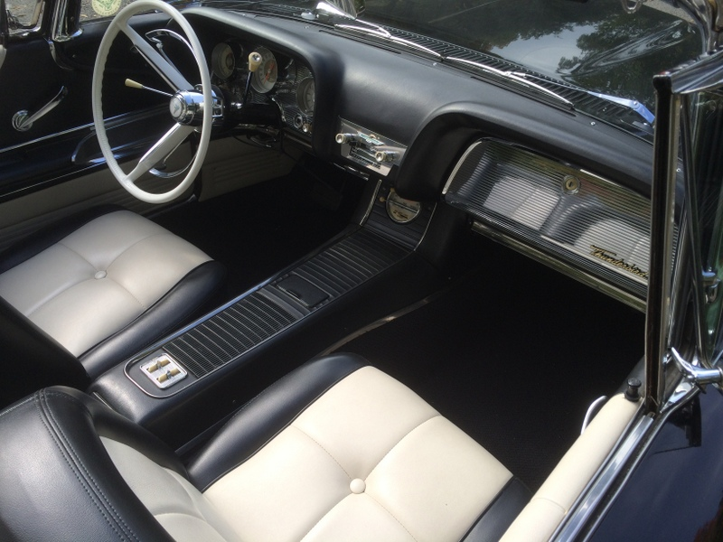1960 FORD THUNDERBIRD CONVERTIBLE - Interior - 180864