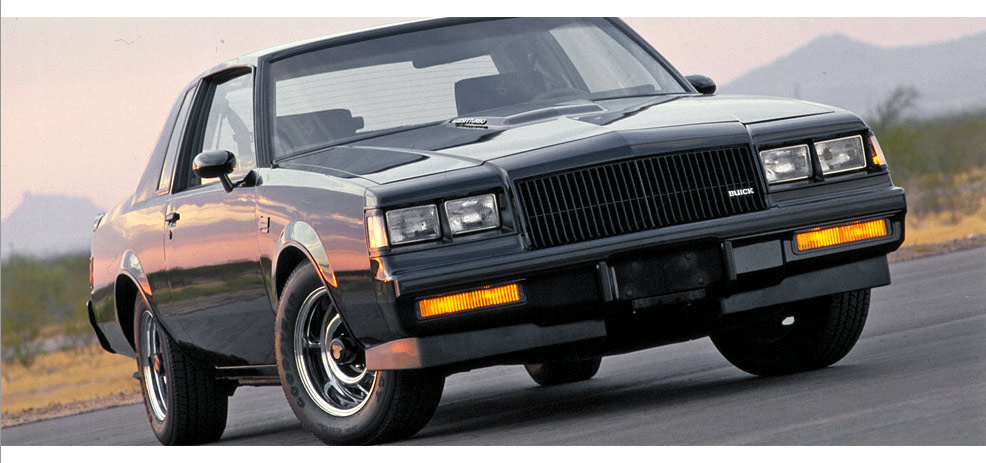 1987 BUICK GRAND NATIONAL  - Front 3/4 - 180867