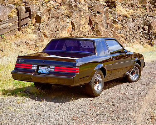 1987 BUICK GRAND NATIONAL  - Rear 3/4 - 180867