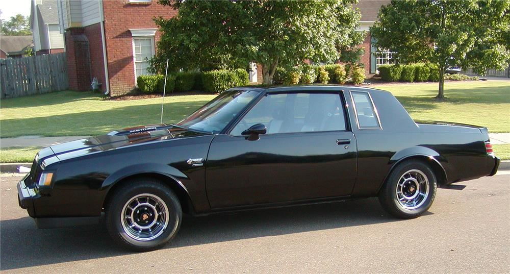 1987 BUICK GRAND NATIONAL  - Side Profile - 180867