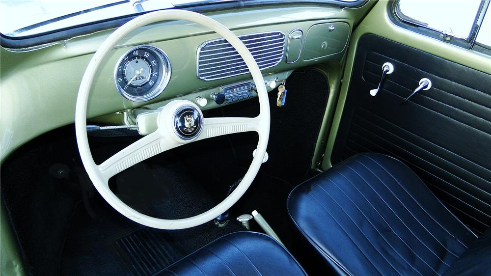 1956 VOLKSWAGEN BEETLE SEDAN - Interior - 180871